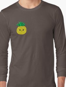 Cute Pineapple Long Sleeve T-Shirt