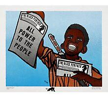 Douglas Black Panther Photographic Print