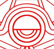 AUFD Hidden Aztec symbol Sticker