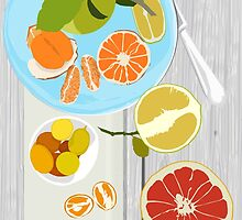 Winter Citrus by OpenArt