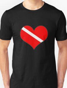 Dive flag heart T-Shirt