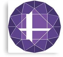 Purple Updated Logo Canvas Print