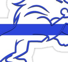 blueline LEO tshirt Sticker
