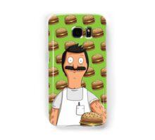 Bob Belcher Burger Pattern Green Samsung Galaxy Case/Skin