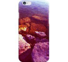 Pink Candy Rock Beach iPhone Case/Skin