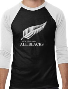 Kiwi All Blacks New Zealand Men's Baseball ¾ T-Shirt
