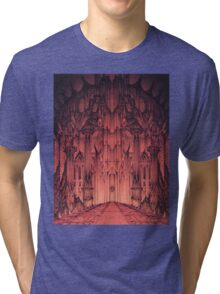 The Gates of Barad Dûr Tri-blend T-Shirt