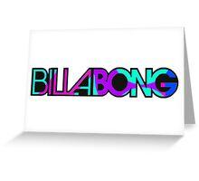 Billabong Greeting Card