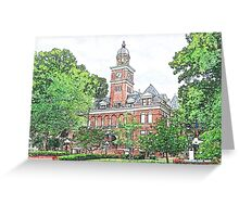 """""""Courthouse"""" Greeting Card"""