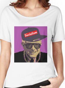 Bernie = Yung Political Genius Women's Relaxed Fit T-Shirt