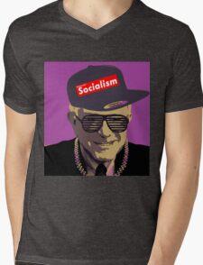Bernie = Yung Political Genius Mens V-Neck T-Shirt