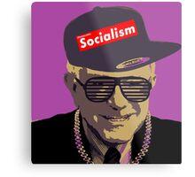 Bernie = Yung Political Genius Metal Print