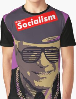 Bernie = Yung Political Genius Graphic T-Shirt