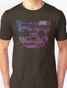 Vaporwave Hello Kitty Japanese Tumblr Word Cloud T-Shirt