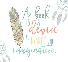 A Book Is A Device by evieseo