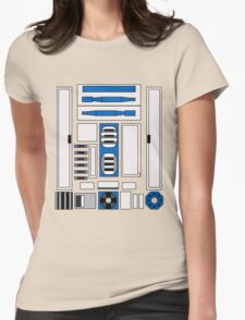 R2 D2 Womens Fitted T-Shirt