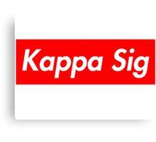 Kappa Sig Canvas Print