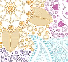 Abstract Colourful Design by Molly Taylor