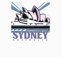 Opera House Sydney pop art design Womens Fitted T-Shirt