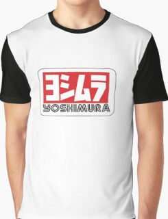 yoshimura racing exhaust motorcyle black Graphic T-Shirt