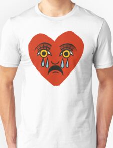 Comme des Garcon Play - Crying Heart  T-Shirt