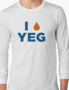 I HEART YEG Long Sleeve T-Shirt