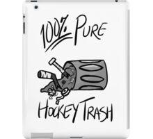 100% Pure Hockey Trash (White) iPad Case/Skin