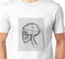 Skull in Profile Unisex T-Shirt