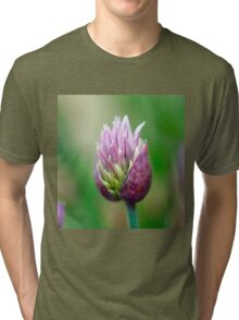 Chive Blossom 3 Tri-blend T-Shirt