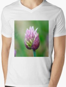 Chive Blossom 3 Mens V-Neck T-Shirt