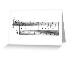Music TAB - Sunshine of your love - Cream Greeting Card