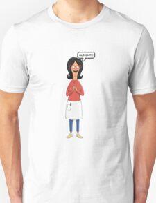 Linda Belcher Wine Pattern Green T-Shirt