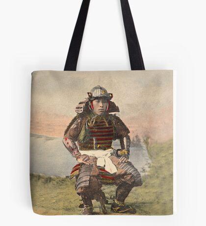 Samurai warrior in armour - 1900 Tote Bag