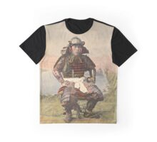 Samurai warrior in armour - 1900 Graphic T-Shirt