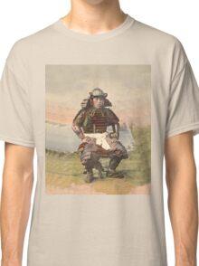 Samurai warrior in armour - 1900 Classic T-Shirt