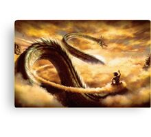 Hi Shenron Canvas Print