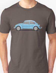 1972 Volkswagen Super Beetle - Marina Blue T-Shirt