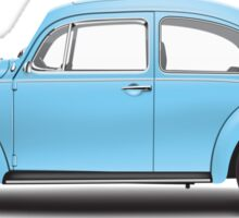 1972 Volkswagen Super Beetle - Marina Blue Sticker