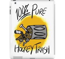 100% Pure Hockey Trash (Yellow) iPad Case/Skin