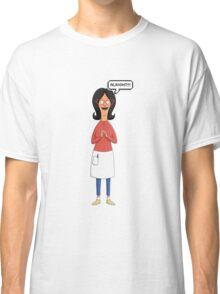 Linda Belcher Wine Pattern Red Classic T-Shirt
