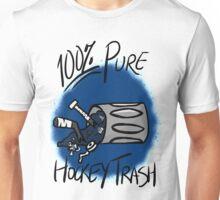 100% Pure Hockey Trash (Blue) Unisex T-Shirt