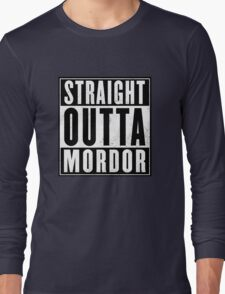 Lord of the rings - Mordor Long Sleeve T-Shirt