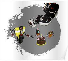 Cake & Potatoes Poster