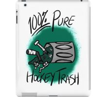 100% Pure Hockey Trash (Green) iPad Case/Skin