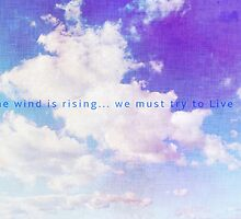 The wind rises by CascaKai