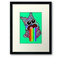 Trippy Chowder Framed Print