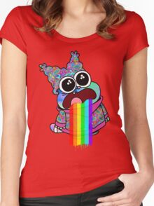 Trippy Chowder Women's Fitted Scoop T-Shirt