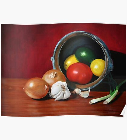 Fruits and Vegetables Poster