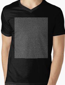 Bee Script All Movie in 1 - Black Mens V-Neck T-Shirt