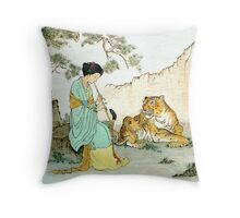 """""""Beauty and Beast""""  Throw Pillow"""